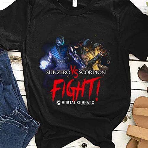 Amazon Com Tranganhtee Shirt Premium Mortal Kombat X Sub Zero