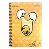 Sanrio Gudetama Lazy Egg PP Cover College Ruled Notebook Note Pad (CRACKING)