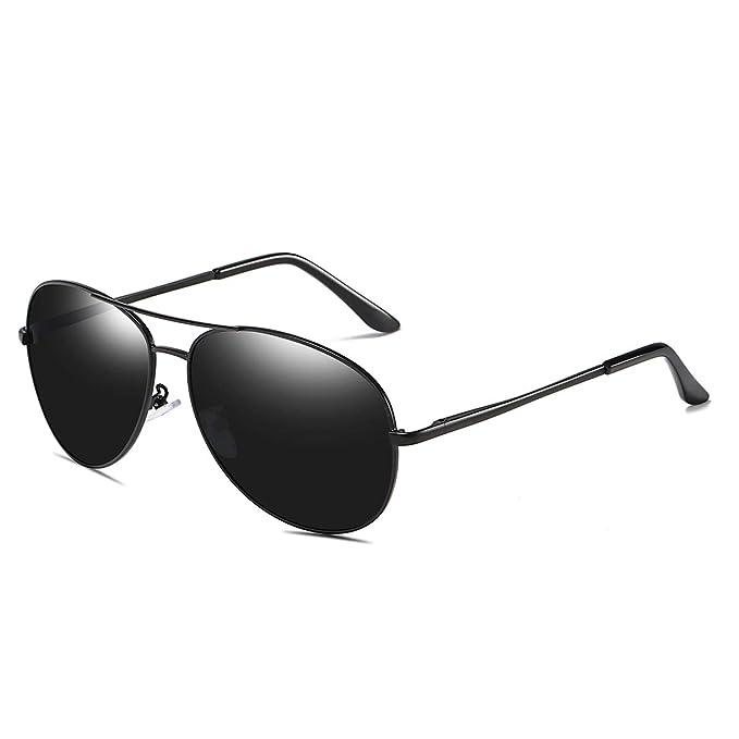 98c9b3466ce5c Gafas De Sol Polarizadas Para Hombres Y Mujeres Lentes De Sol Vidrios  Antideslumbrantes Del Vuelo De
