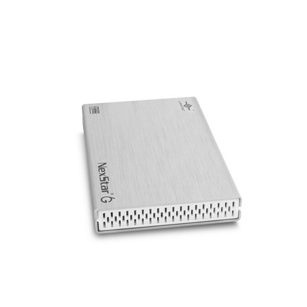 Vantec 2.5-Inch SATA 6Gb/s to USB 3.0 HDD/SSD Aluminum Enclosure, Silver (NST-266S3-SV)