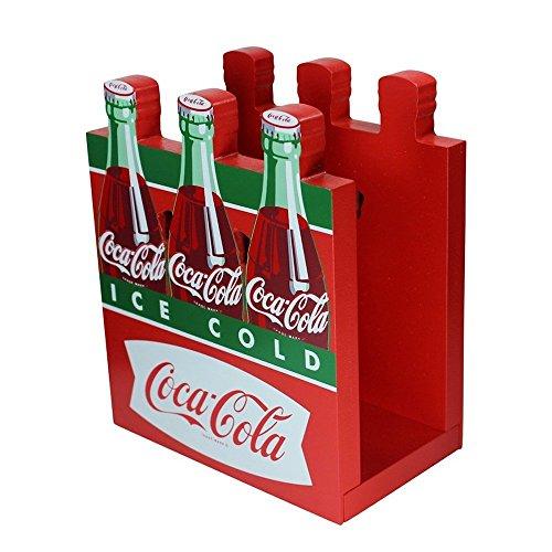 Coca-Cola Wooden Fishtail Six Pack Napkin Holder Coca Cola Napkin Holder