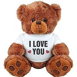 I Love You Valentine's Day Bear: Medium Plush Teddy Bear
