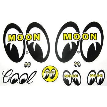 Amazoncom Mooneyes Hot Rod Decals Custom Car Vehicle Stickers - Vehicle stickers and decals