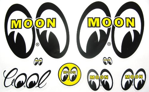 Hot Rod Decal (Mooneyes Hot Rod Decals Custom Car Vehicle Stickers)