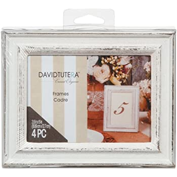 Amazon.com - Whitewashed Distressed Picture Frames -