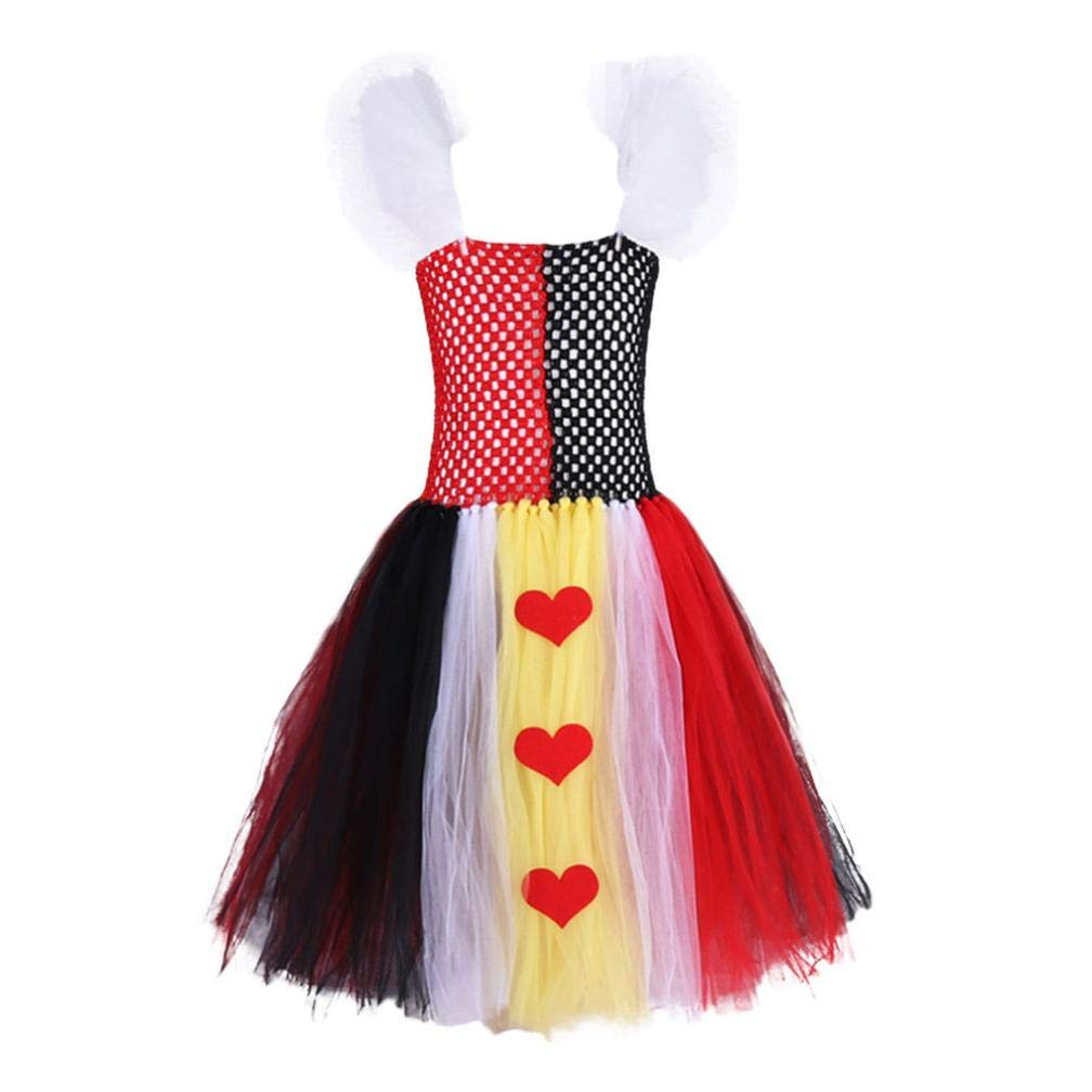 Suma-ma Baby Girls (6M-3T) Long Sleeve Love Print Cotton Dress+Hair Band Children Clothing,Newborn Fasion and Casual