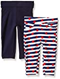 Limited Too Girls' 2 Pack French Terry Legging, KW02-Multi, 18M