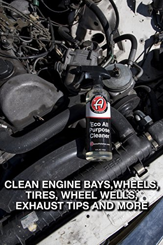 Adam's ECO All Purpose Cleaner - Industrial Strength, Concentrated Formula Can be Diluted Down - Tough on Dirt but Easy on Your Car, You, and The Environment (5 Gallon) by Adam's Polishes (Image #4)