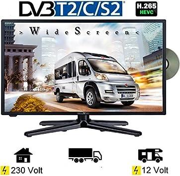 Reflexion LDD de 2490 23.6 pulgadas Wide Sceen LED televisor con 19 pulgadas 47 cm, DVB-