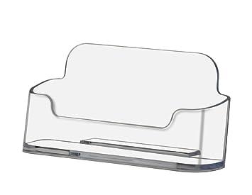 Amazon Marketing Holders Plastic Business Card Holder Desktop