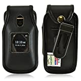 Turtleback Belt Clip Holster Fitted Case Compatible with Alcatel Onetouch Retro Flip Phone