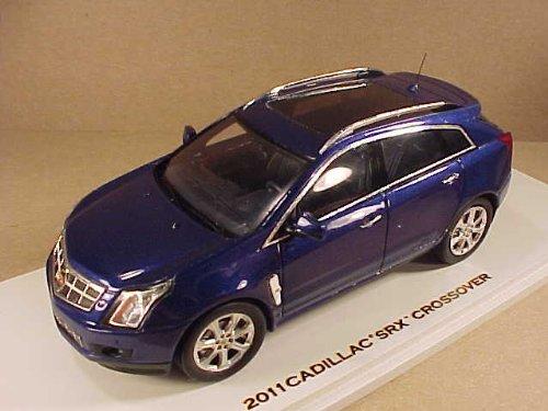 1/43 キャデラックSRX クロスオーバー2011 インペリアルブルー 100952