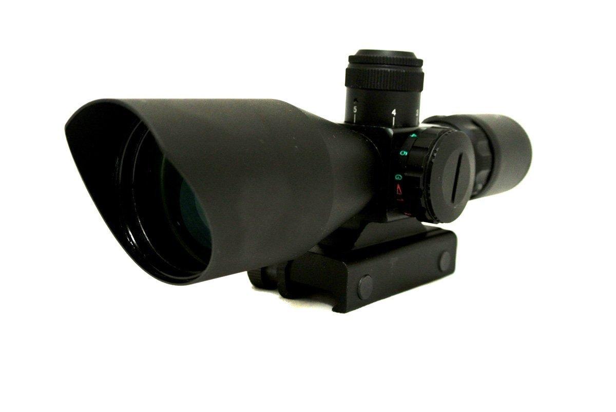 Zielfernrohr Mit Entfernungsmesser : Monstrum tactical 3u20139 x 40 zielfernrohr mit beleuchteten