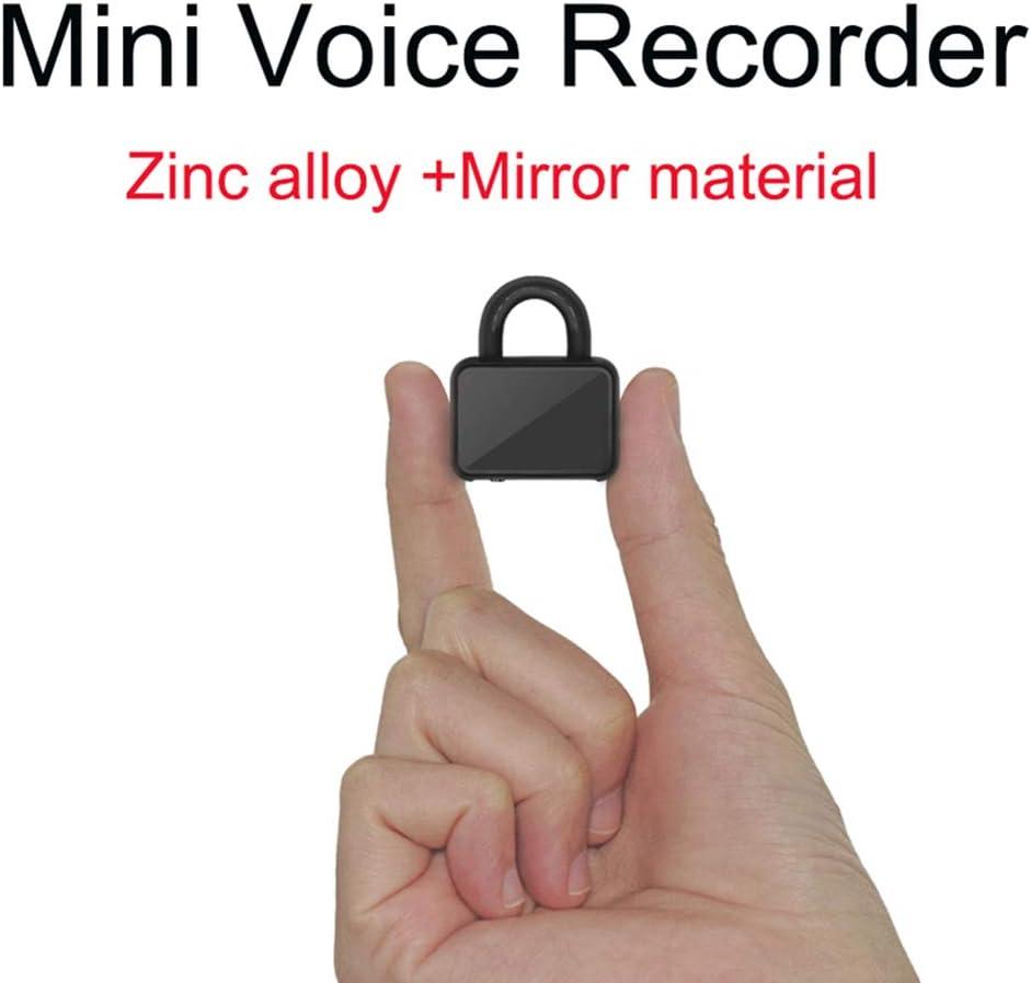 Lhlbgdz Voice Activated Recording Mini-Digitalaufnahmeger/ät Professionelle Langzeit Voice Recorder Schl/üsselanh/änger F/ür Meeting-Klasse