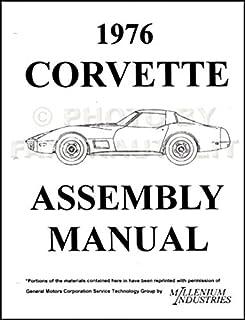 1976 Corvette Plete Factory Assembly Instruction Manual Guide. 1976 Corvette Reprint Factory Assembly Manual. Corvette. 76 Corvette Suspension Diagram At Scoala.co
