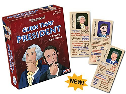 Jr. RangerLand Guess That President
