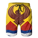 KfjTA Mens San Francisco Flag Swimming Summer Beach Board Shorts Classic Swimming Beach Pants For Man