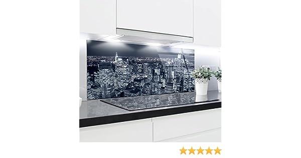 Paneles de vidrio templado resistente al calor (125 x 50 cm): Amazon.es: Hogar