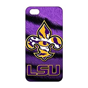 HUTGUF 3D Case Cover LSU Tigers football Phone Case for iPhone 5s