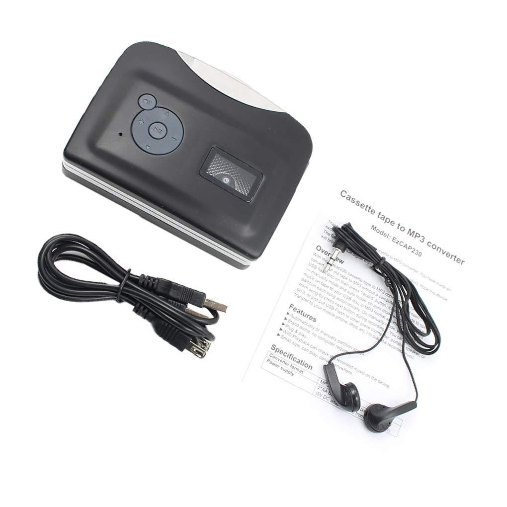 amazon com boyouu small tape to pc usb cassette mp3 cd converter