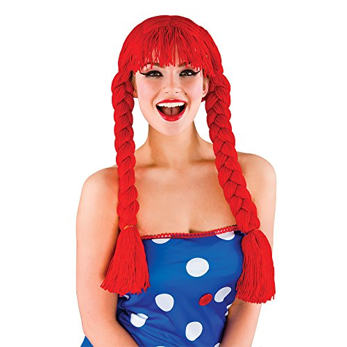 Wicked Costumes Ragdoll Nightmare Before Christmas Sally Costume Wig (Sally The Ragdoll Costumes)
