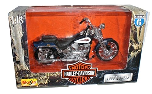 Maisto Harley Davidson FXSTS Springer Softail 99 Die cast Motorcycle 1:18 scale Series 6