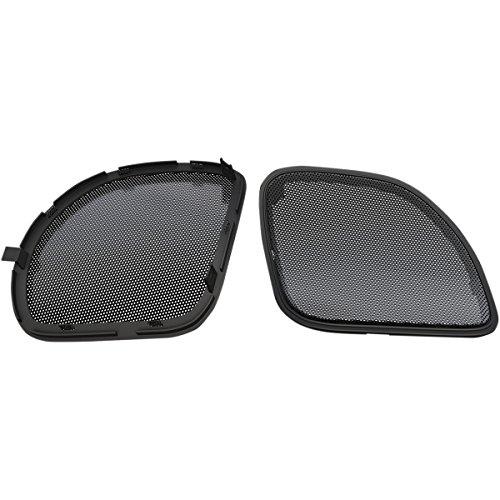 Hogtunes RG RM GRILL Replacement Front Speaker Grille (Black s for 2015-2016 Harley-Davidson FLTR Road Glide Models)