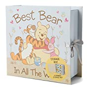 Baby Keepsake Boxes - Various Designs (Best Bear in All The World)