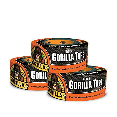 12yd Black Gorilla Tape (Pack of 3) by Gorilla