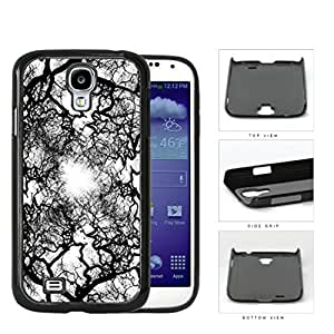 Black and White Natural Earth Tree Veins Hard Plastic Snap on Cell Phone Case Cover Samsung Galaxy S4 I9500