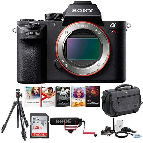 Sony Alpha a7Rii Mirrorless Digital Camera  Holiday Bundle
