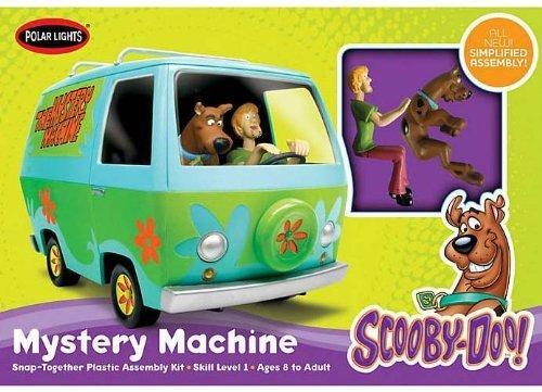1/25 Scooby-Doo Mystery Machine, Snap NT by Polar Lights - Scooby Doo Mystery Machine Sticker