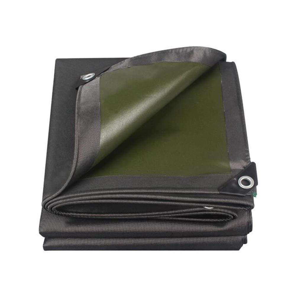 DALL ターポリン 防雨 タープ グランドシート カバー シェッドクロス PVCコーティング 防水 シェード (色 : 黒, サイズ さいず : 3*4m) 3*4m 黒 B07KQT7TLZ