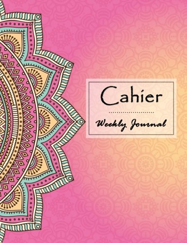 Cahier Weekly Journal: Cahier Inserts Planner, Cahier Notebook, Weekly Insert, Daily Organizer ()