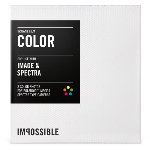 Impossible PRD2787 Color Film for Polaroid Spectra Cameras (Fuji 100c Polaroid Film)