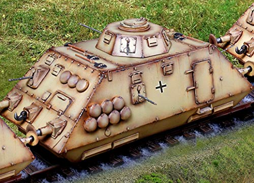 Collector's Showcase WW2 German CS01062 Armored Train Scout Car 1:30 Scale Mixed Media