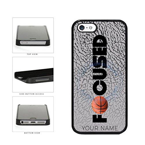 BleuReign Basketball Personalized Custom Name Focused Plasti