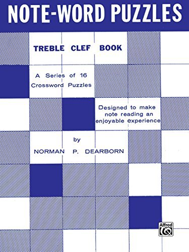 Note-Word Puzzles: Treble Clef by Norman P. Dearborn - Mall Dearborn