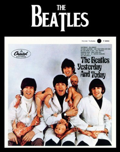 beatles butcher poster - 2