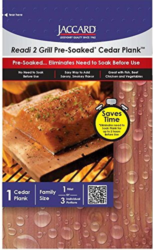 Jaccard Wood Cooking Cedar Blanks for 3 Portions by Jaccard