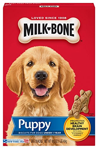Milk-Bone Original Puppy Dog Treats, 16-Ounce (Pack Of 6) - Milk Bone Original Biscuits