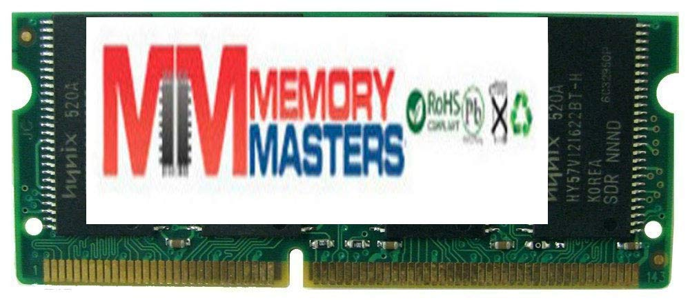 MemoryMasters 512MB SDRAM SODIMM (144 Pin) 133Mhz PC133 RAM for Brother Printers