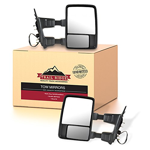 Trail Ridge Tow Mirror Power Fold Heat Signal Clearance Texture Pair for Ford ()
