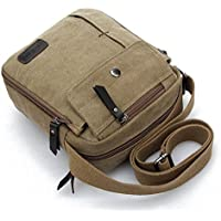 Aeoss Men and Women Leisure Small Messenger Bag Canvas Shoulder Bag Outdoor Multi-Purpose Travel Bag
