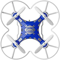 2.4G 4CH 6-Axis Gyro RTF Remote Control Pocket Quadcopter Toy (BLUE)