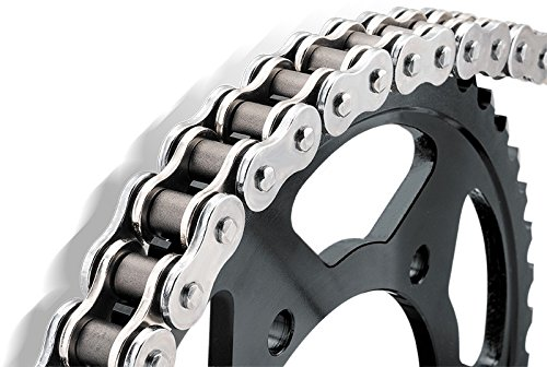 BikeMaster 530 x 120 BMZR Z-Ring Chain Chrome/Chrome (Bikemaster X-ring Chain)