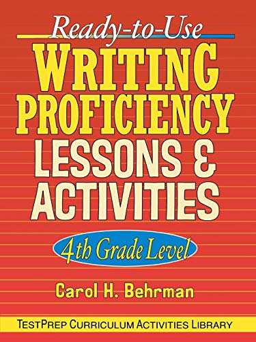 RTU Writing Prof. Lessons 4th Gr
