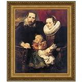 Design Toscano Wildens Family Portrait, 1621, Canvas Replica Painting: Grande