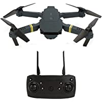 RC Drone With 4K HD Camera WIFI FPV Altitude Hold Headless Mode Drones Foldable 3D Rolling RC Quadcopter Gifts For Boys…