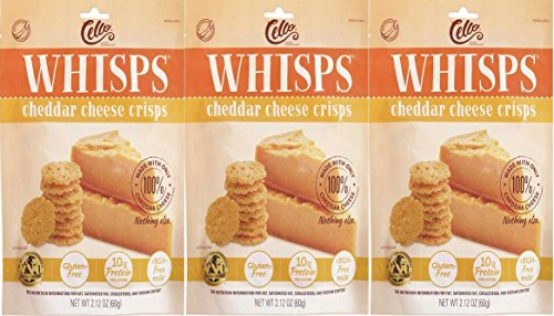 Cheddar Crisps - Whisps Cheddar Cheese Crisps 2.12 oz (3 Pack)